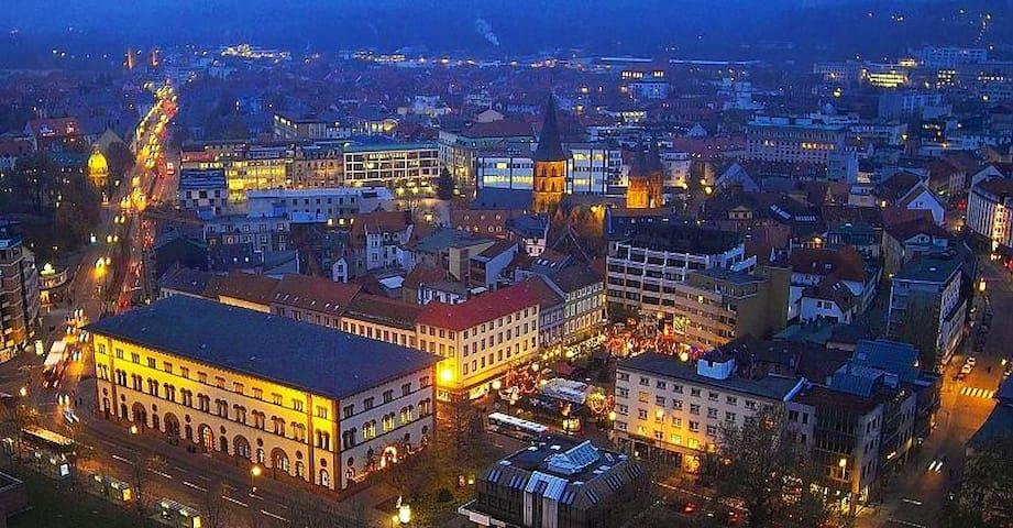 Gemütliches Zimmer im Zentrum - Kaiserslautern - Leilighet