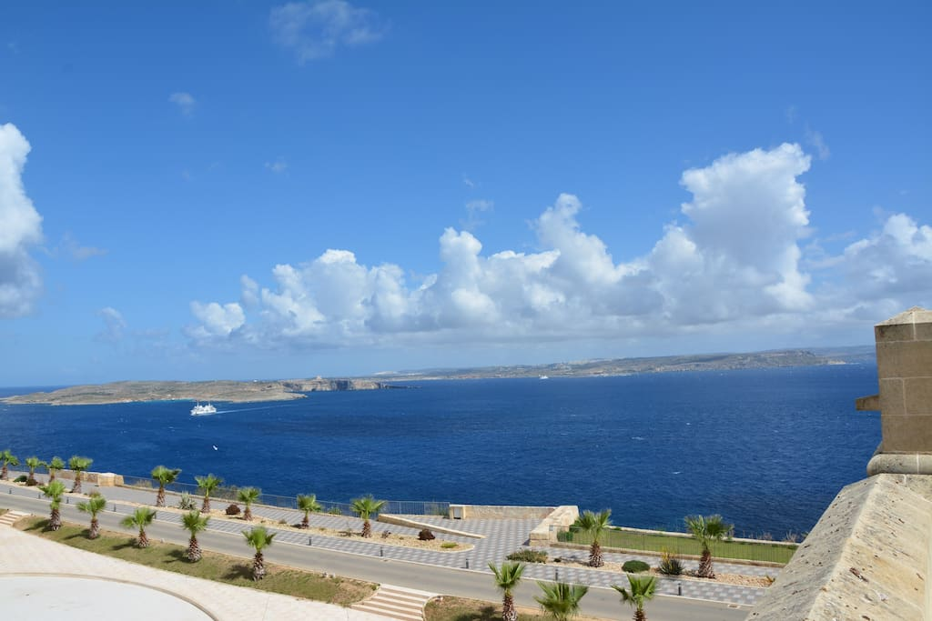 Sea View from Fort Chambray