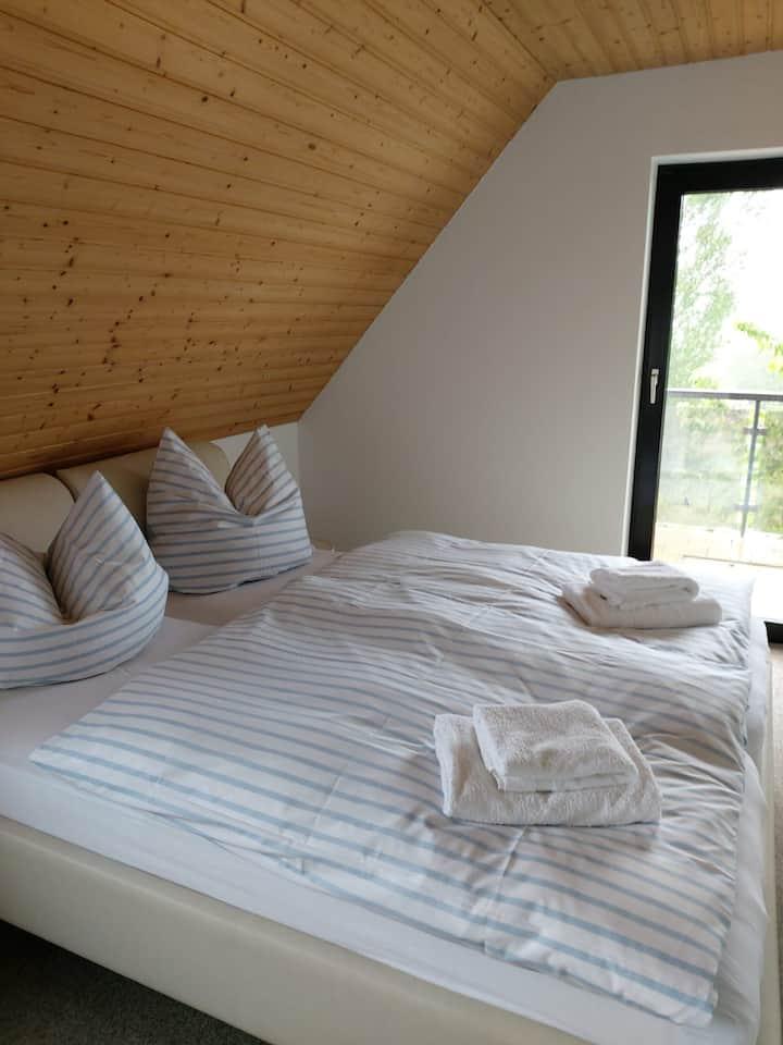 Doppelzimmer Standard in der Pension Petersen