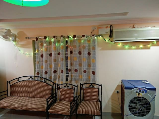 2 bhk penthouse fully furnished - Hyderabad - Leilighet