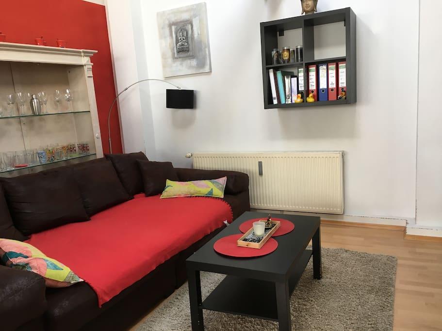 Tv Ecke , ein Teil des Wohnzimmers