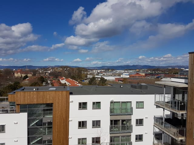 Modern apartment central in Trondheim
