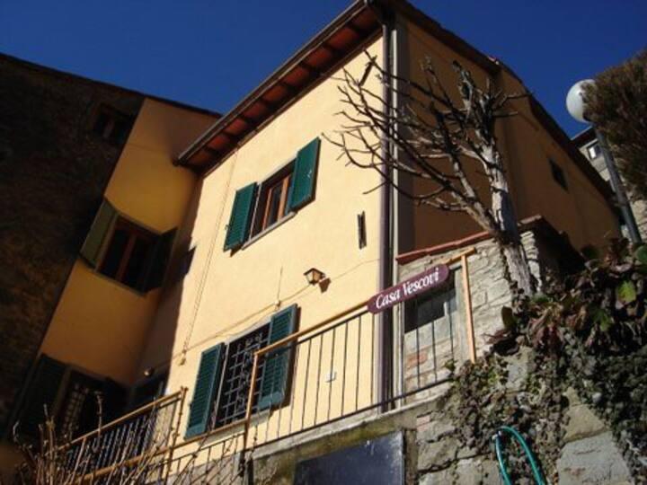 Tuscan Hillside Village House