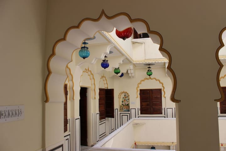 Royal stay Entire Floor of Haveli in old city - Jaipur - Other