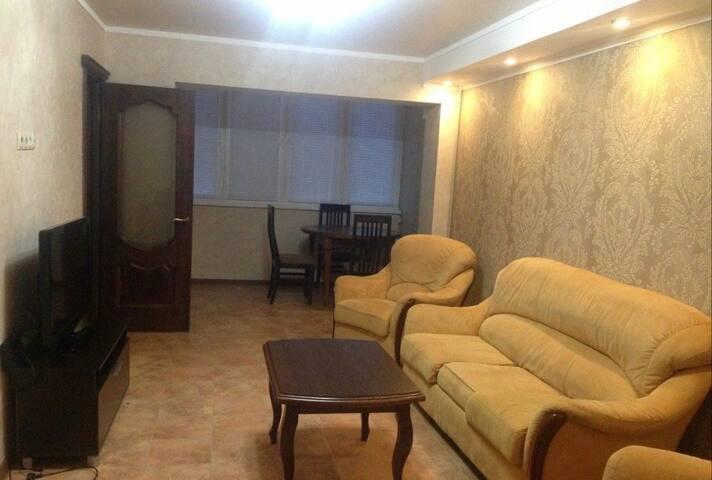 Трёхкомнатная квартира в сердце города Владикавказ