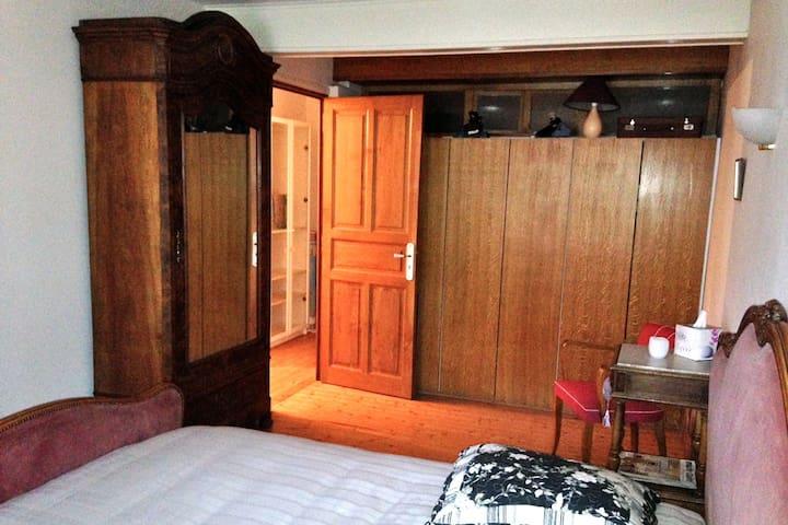 Chambre à 5 mn de Centr'Alp et à la campagne - Moirans - Casa