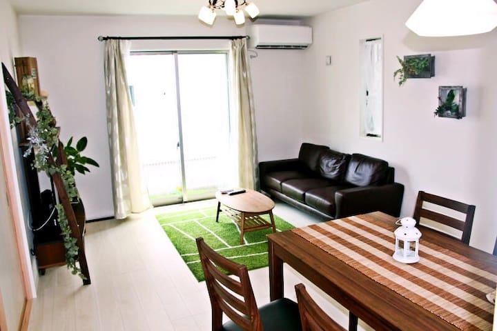 【东京町田】独栋别墅!精装修!1和室+3洋室!最大10人!WIFI