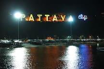 Pattaya City at Night