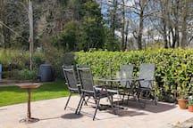 Enjoy a seat in the garden