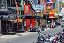 Jalan Raya Seminyak is around 500m away from the villa.   Jalan Raya Seminyak is the main walking street where you can find an eclectic mix of local and international fashion boutiques, galleries and art shops alongside cafés, bars and restaurants.