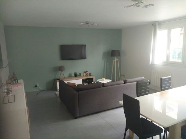 Grand appartement  63 m2 proche golf du morbihan