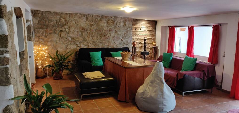 Casa Tranquila de Pueblo.