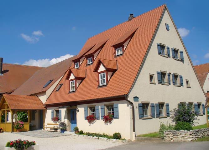 Urlaub auf dem Bio-Bauernhof in Franken - Höttingen - Casa