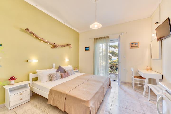 Cozy studio for 2 in familly-villa closeby the sea