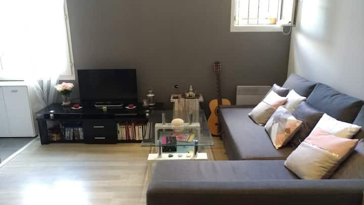Studio cosy à Nointel proche de l'Isle Adam