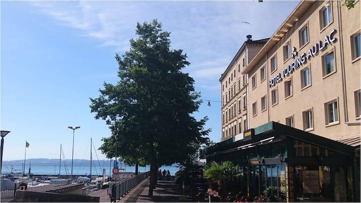 Hôtel directement au port de Neuchâtel