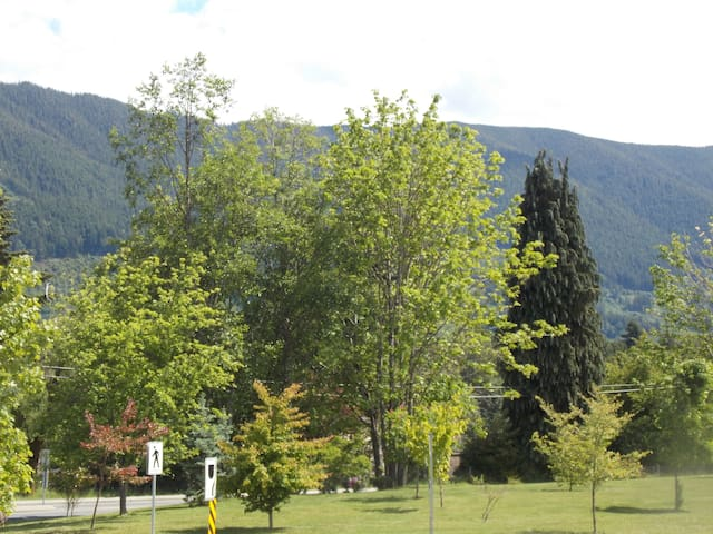 Bright cozy 2 bdrm apartment in town - Lake Cowichan - Casa