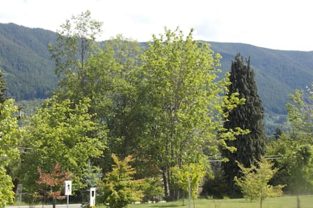 Bright cozy 2 bdrm apartment in town - Lake Cowichan