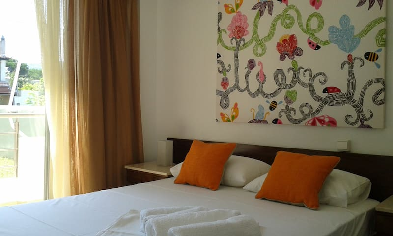 Double room seaside apartement - Agia Anna