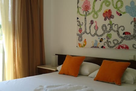 Double room seaside apartement - Agia Anna - Appartamento