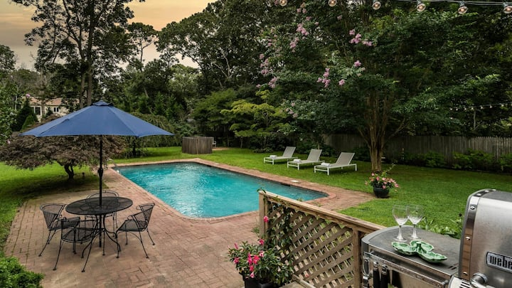 New Listing: Stay in this expansive property located in a coveted neighborhood in East Hampton