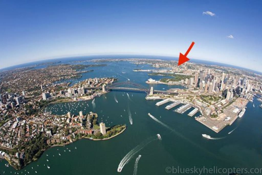 perfect location to experience best of Sydney