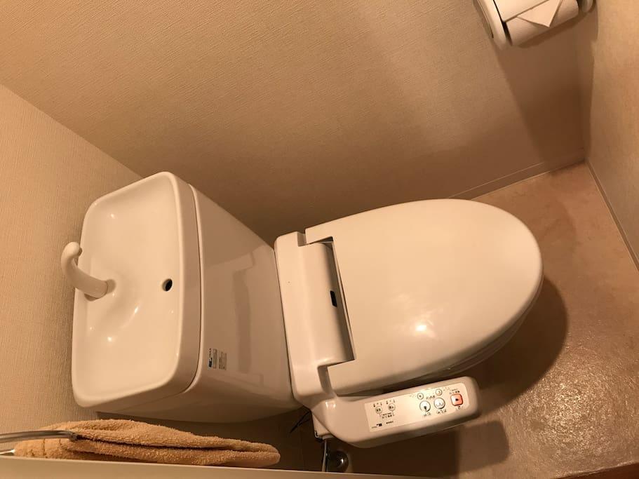 完全にトイレは別