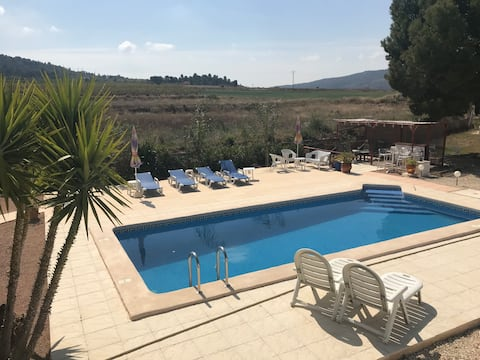 Lovely apartment in a country home nr Pinoso