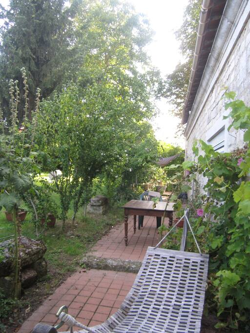 Accès indépendante dans jardin