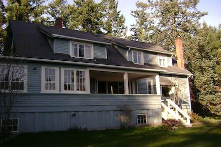 Historic Colonel De Salis Shawnigan Lk.Summer Home - Shawnigan Lake - Ev