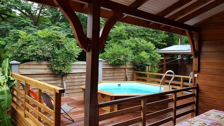 Binbin 's villa  1 +( location de voiture option )