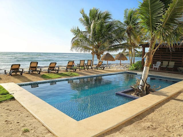 SALE! NEW OCEANFRONT CONDO WITH POOL! A/C! SNORKEL