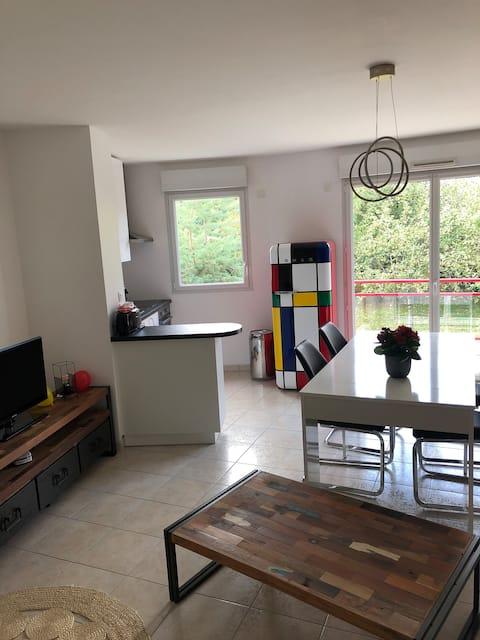Apartamento nuevo Nantes vintage