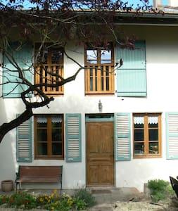 maison ancienne en maconnais chez le vigneron - Chardonnay