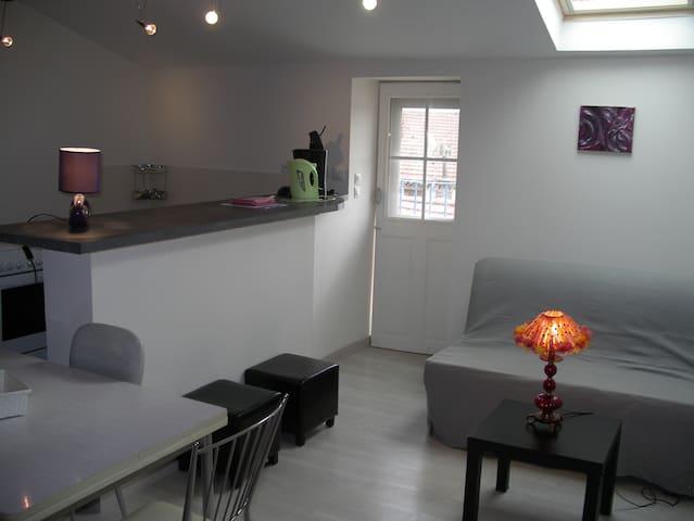 Idéal en Ardèche ! bel appartement toit terrasse - Le Teil - Apartment