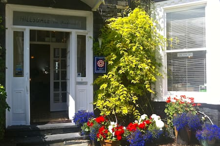 A beautifully styled and friendly Bed & Breakfast property, conveniently situated in Ambleside's vibrant town centre in the very heart of the English Lake District.  FREE Wi-Fi and an off-road parking space for each room.