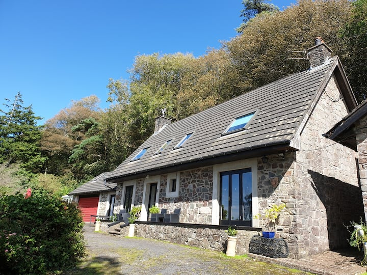Charming 4 bedroom cottage with fabulous views