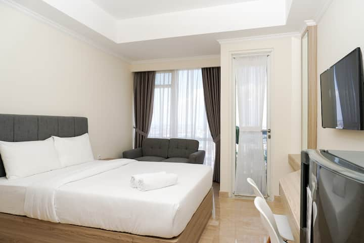 Trendy Studio at Menteng Park Apartment