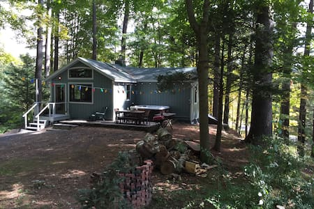 Cabin near skiing with  hot tub - woodstock - Ev