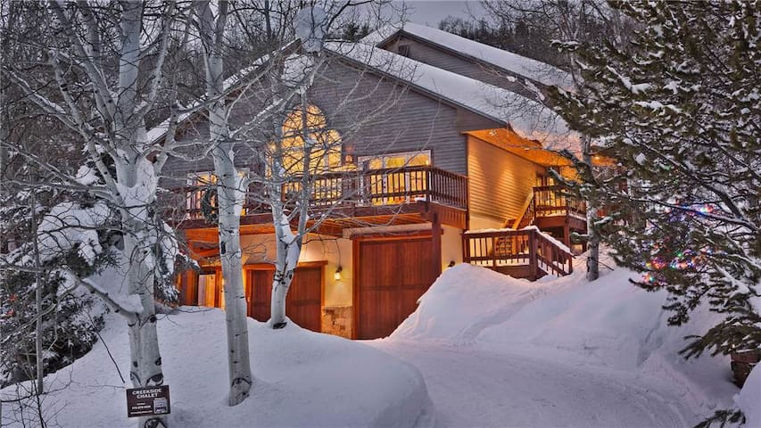 Creekside Chalet: 6BR Luxury Private Mountain Home