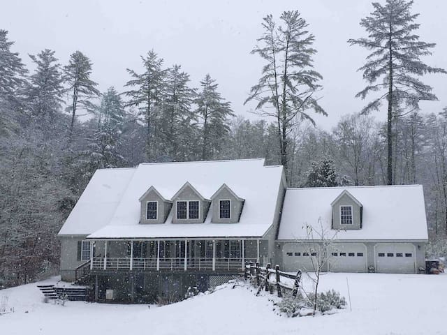 Enjoy the snow in picturesque Arlington VT!