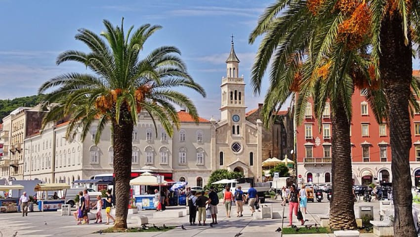 Apartment holidays in Split