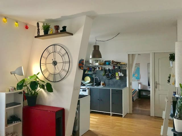 Clean flat with beautiful decoration