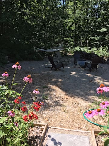 CAMPSITE PERENNIAL PATH: Hermitage of Pearl Lake
