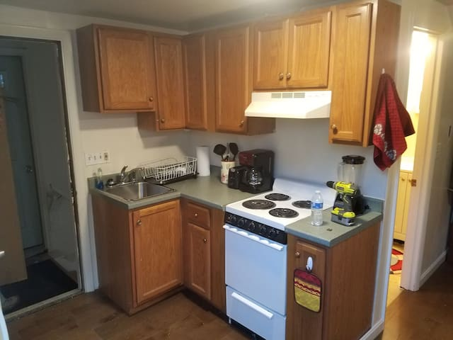 Cozy and quiet 1 BR half mile from downtown