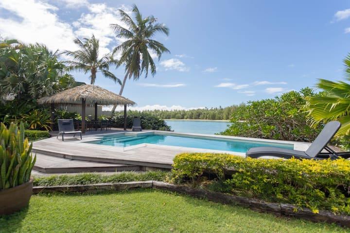 Muri Beach Villa – private luxury