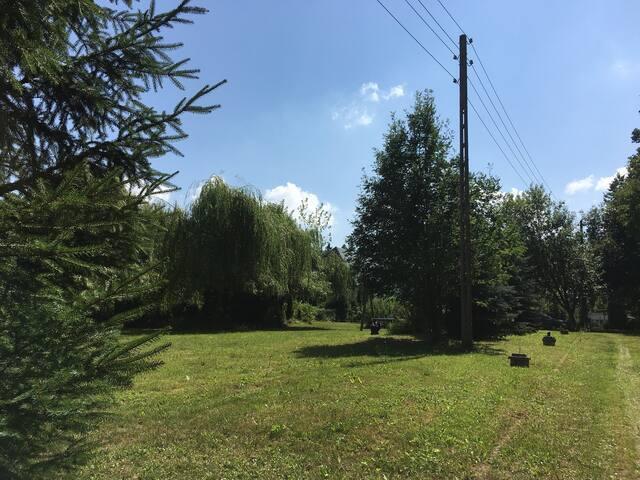 Gemütliche Wohnung im Grünen, 5 Min.vom Kurpark