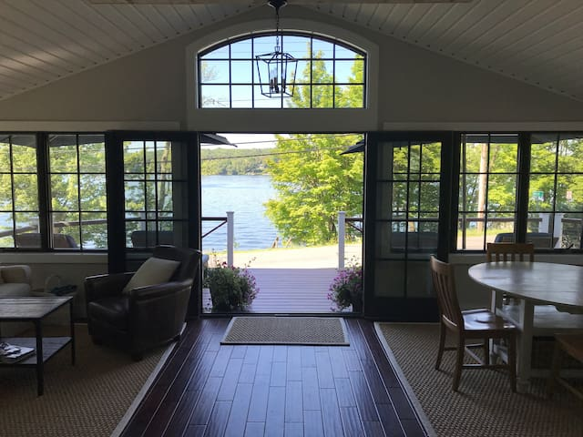 Newly renovated lakefront home on Copake Lake