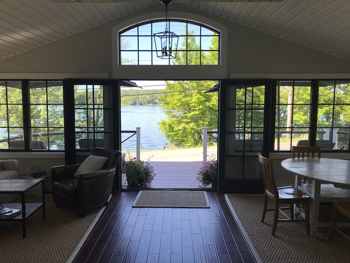 Newly renovated lakefront home on Copake Lake