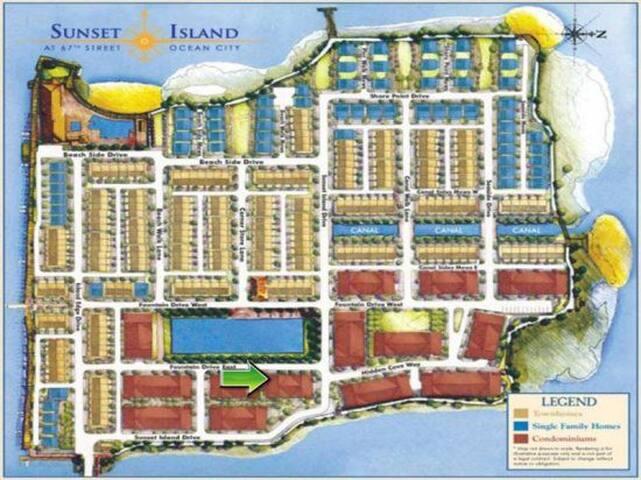 Sunset Island, 6 Fountain Drive East, 2A - Map